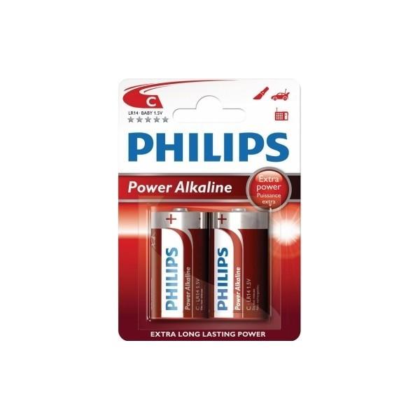 PILAS POWER ALKALINE C PHILIPS