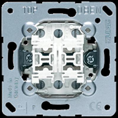 MECANISMO DOBLE CONMUTADOR 10AX / 250V