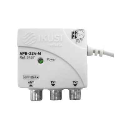 Fuente de alimentación tamaño micro 24 V 100 mA, 2 salidas - APB-224-M