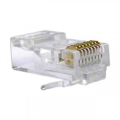 Conector dato rj45 utp cat-6 m