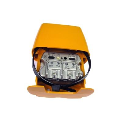 Amplificador mastil 12-24v 3e/1s u-vmix-flmix