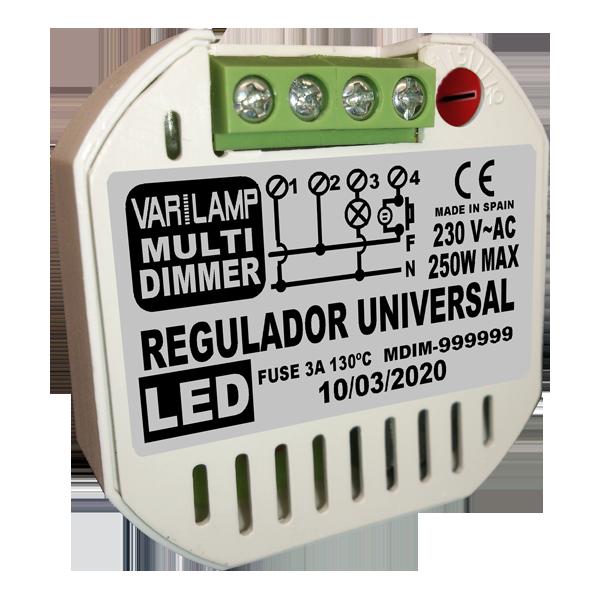 Régulateur UNIVERSEL pour LED MULTI DIMER 250