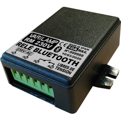 Relé Bluetooth multiuso por teléfono móvil 230v