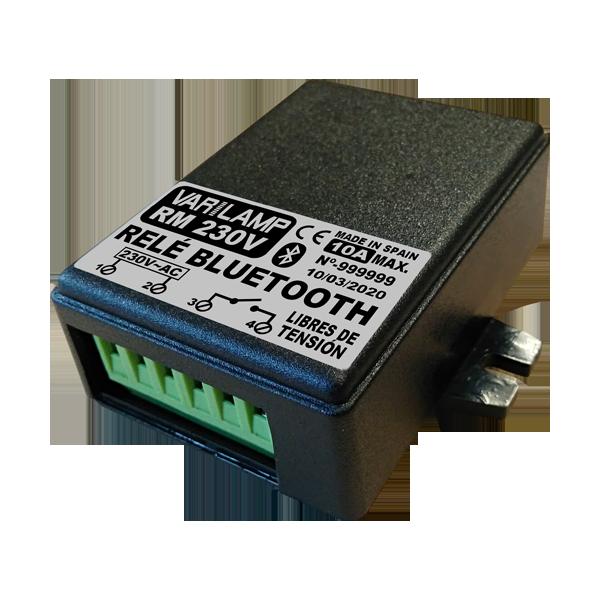 Relais Bluetooth polyvalent par téléphone mobile RM: 230V