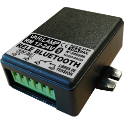 Relé Bluetooth multiuso por teléfono móvil 12-24 V