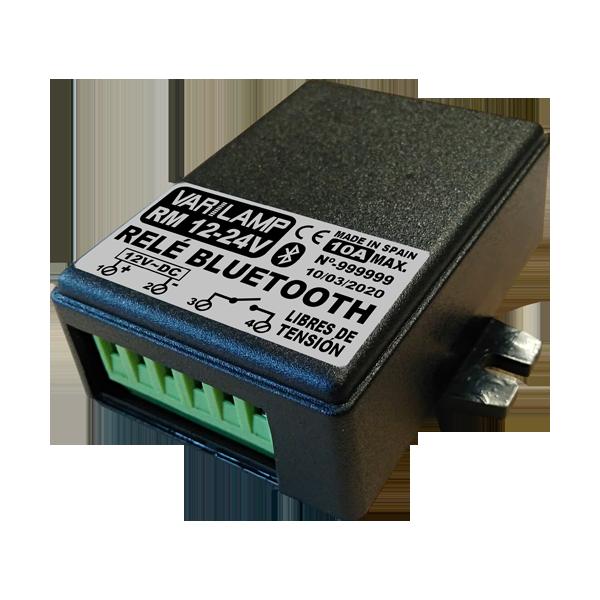 Relais Bluetooth polyvalent par téléphone mobile RM:12-24 V
