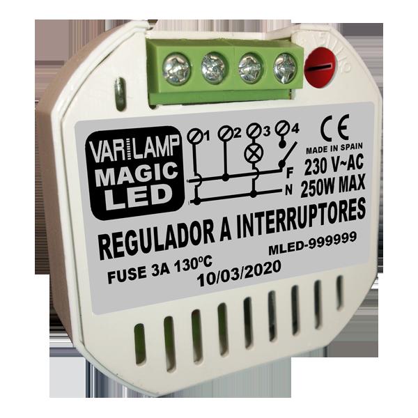 Regulador UNIVERSAL  a interruptores MAGIC LED 250