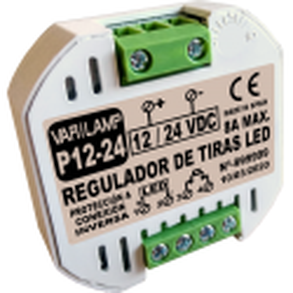Regulador a pulsadores para Tiras LED  P12-24