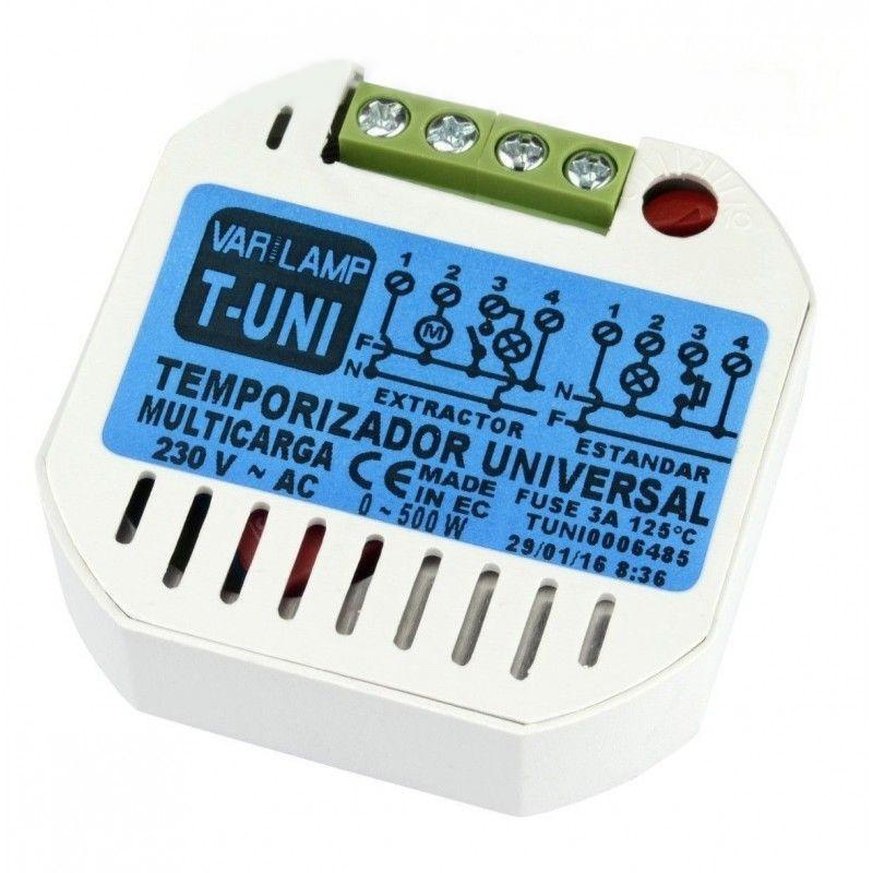 Temporizador UNIVERSAL DUAL a pulsadores