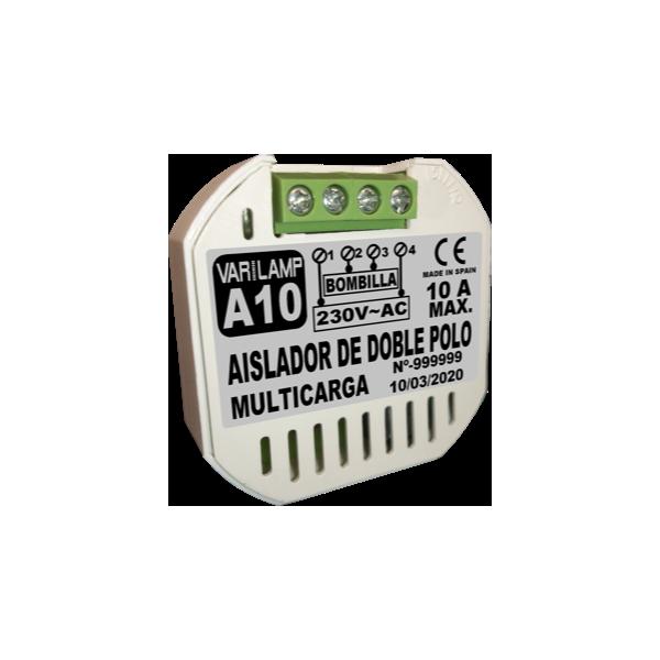 A-10. Isolateur double-pôle