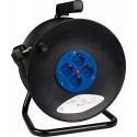 Roller cable 50 meters of cable with 4 bipolar outlets 16 A