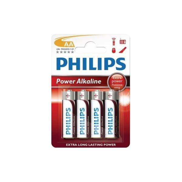 PHILIPS AA POWER ALKALINE BATTERIES