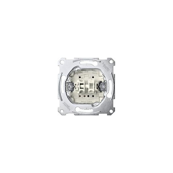 PULSADOR PERSIANAS 10A ELEGANCE SCHNEIDER ELECTRIC 10A ref: MTN3755-0000