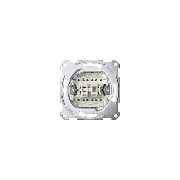 DOUBLE INTERRUPTOR 10AX ELEGANCE SCHNEIDER ELECTRIC 10A ref: MTN3126-0000