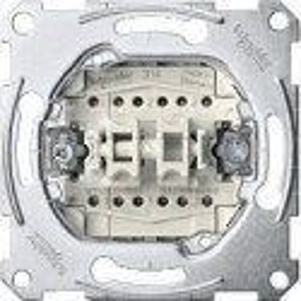 DOBLE INTERRUPTOR 10AX ELEGANCE SCHNEIDER ELECTRIC 10A ref: MTN3126-0000