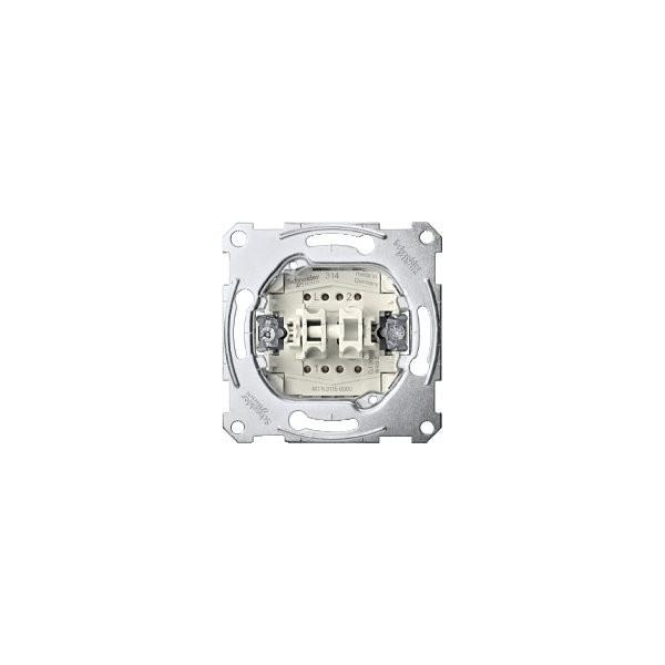 DOUBLE INTERRUPTOR 10AX ELEGANCE SCHNEIDER ELECTRIC 10A ref: MTN3115-0000