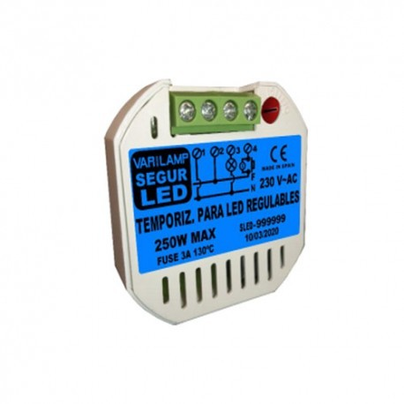 Temporizador de seguridad para LED SEGUR LED 250