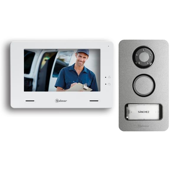 Kit Mininote + de vídeo color de 1 línea