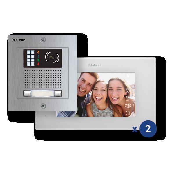 Pentha 2-linien NX5220 Farb-Video-Kit