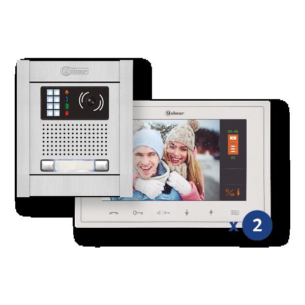 Vesta 7 kit vidéo couleur n5220 2 lignes