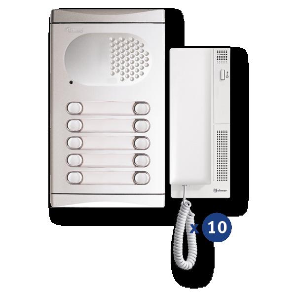 Audio-Kit 10 Zeilen 4210/AL