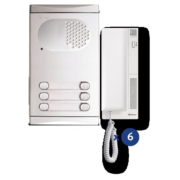 Audio-Kit 6 Zeilen 4260/AL