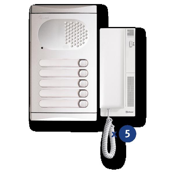 Audio-Kit 5 Zeilen 4150/AL