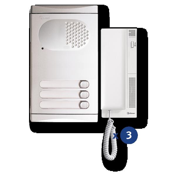 Audio-Kit 3 Zeilen 4130/AL