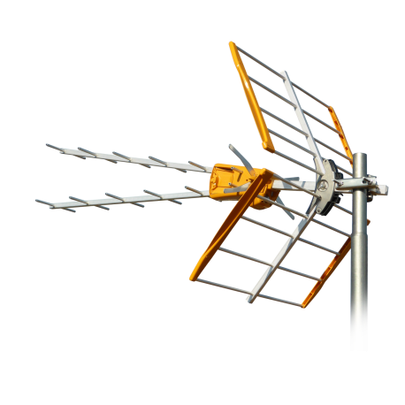 ANTENA UHF TIPO V TERRESTRE (C21-69) G 15dB
