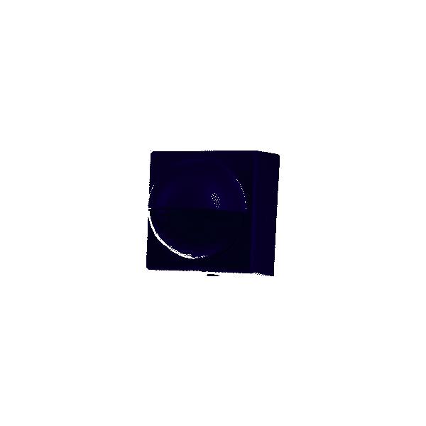 Detector montaje superficie exterior en blanco alcance máximo 12m ángulo 180° IP55