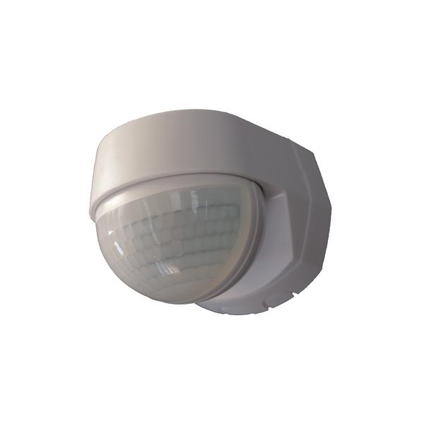 Detector de movimiento TG MD180 AP WH de color blanco para instalación en el exterior