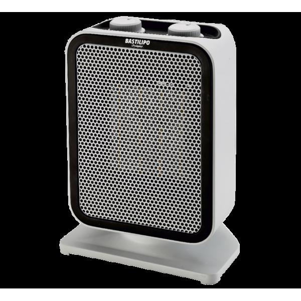 Termoventilador con resistencia PTC No incandescente,  Vertical oscilante, 750W/1500W