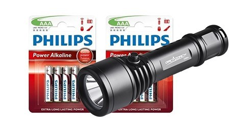 Batteries and Flashlights