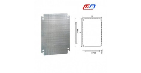 Chassis and mounting plates